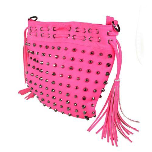 Cupcake Cult Missy Black Nieten Studs Tasche Hand Schulter Bag Gothic SALE  82