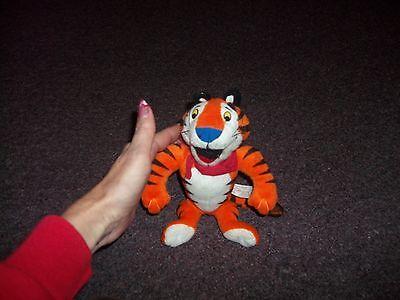 vintage Tony the Tiger Kellogg's stuffed animal 7 inches h good cond.