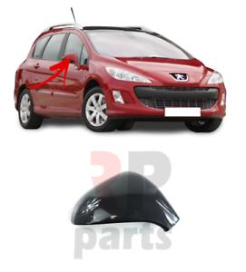 Para-Peugeot-207-06-14-308-07-13-Cubierta-Del-Espejo-De-Ala-Tapa-Para-Pintar-Derecho-O-S