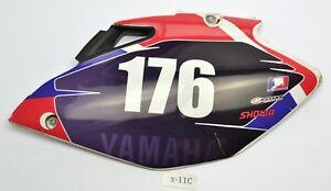 Yamaha YZ 250 F 4T Bj.2007 - Seitenverkleid<wbr/>ung Seitendeckel links
