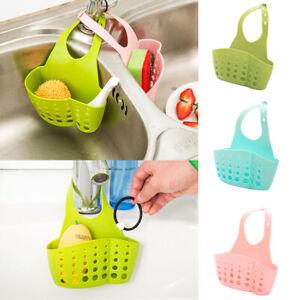 Kitchen-Organiser-Sink-Hanging-Caddy-Basket-Dish-Cleaning-Sponge-Holder-Scrubber