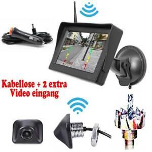 Kabellose-Funk-Ruckfahrkamera-inkl-Monitor-KFZ-Auto-Bus-Transporter-Car-Camera