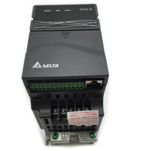 New Delta Inverter VFD Variable Frequency Drive VFD007E21T 1Phase 220V 0.75kW