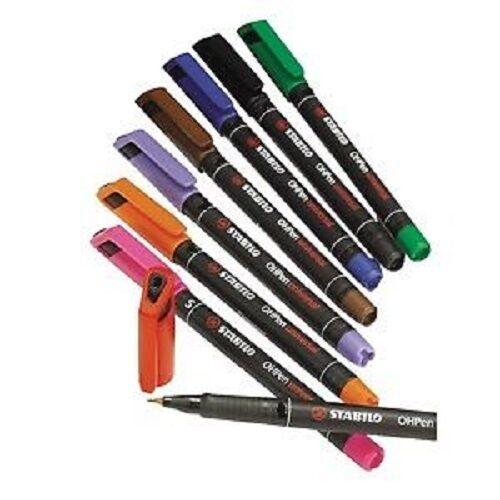 Folienstift Overhead Stift Stabilo  OHPen Universal S 0,4 mm  permanent 10 Stück