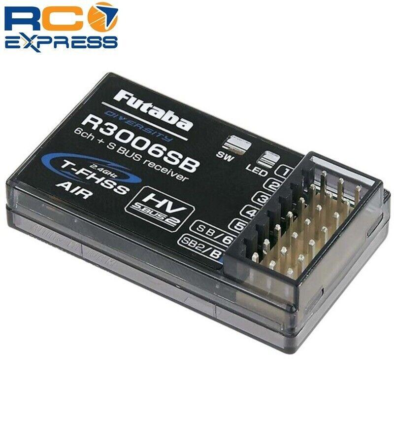 Futaba R3006sb T-Fhss 2.4ghz Sbus Receiver FUTR3006SB