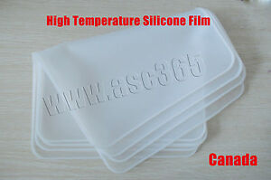 High Temperature Silicone Film 3D Vacuum Sublimation Transfer Machine Accessory