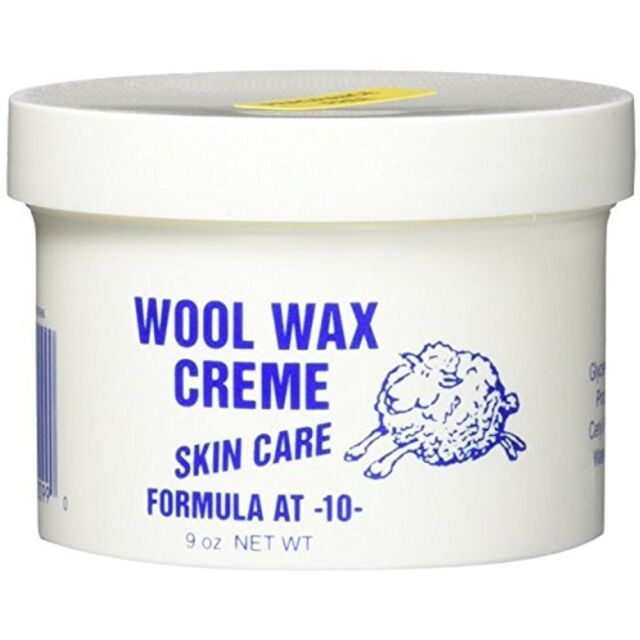 Wool Wax Creme Skin Care Formula AT -10-  9oz FRAGRANCE FREE *Fast Shipping*