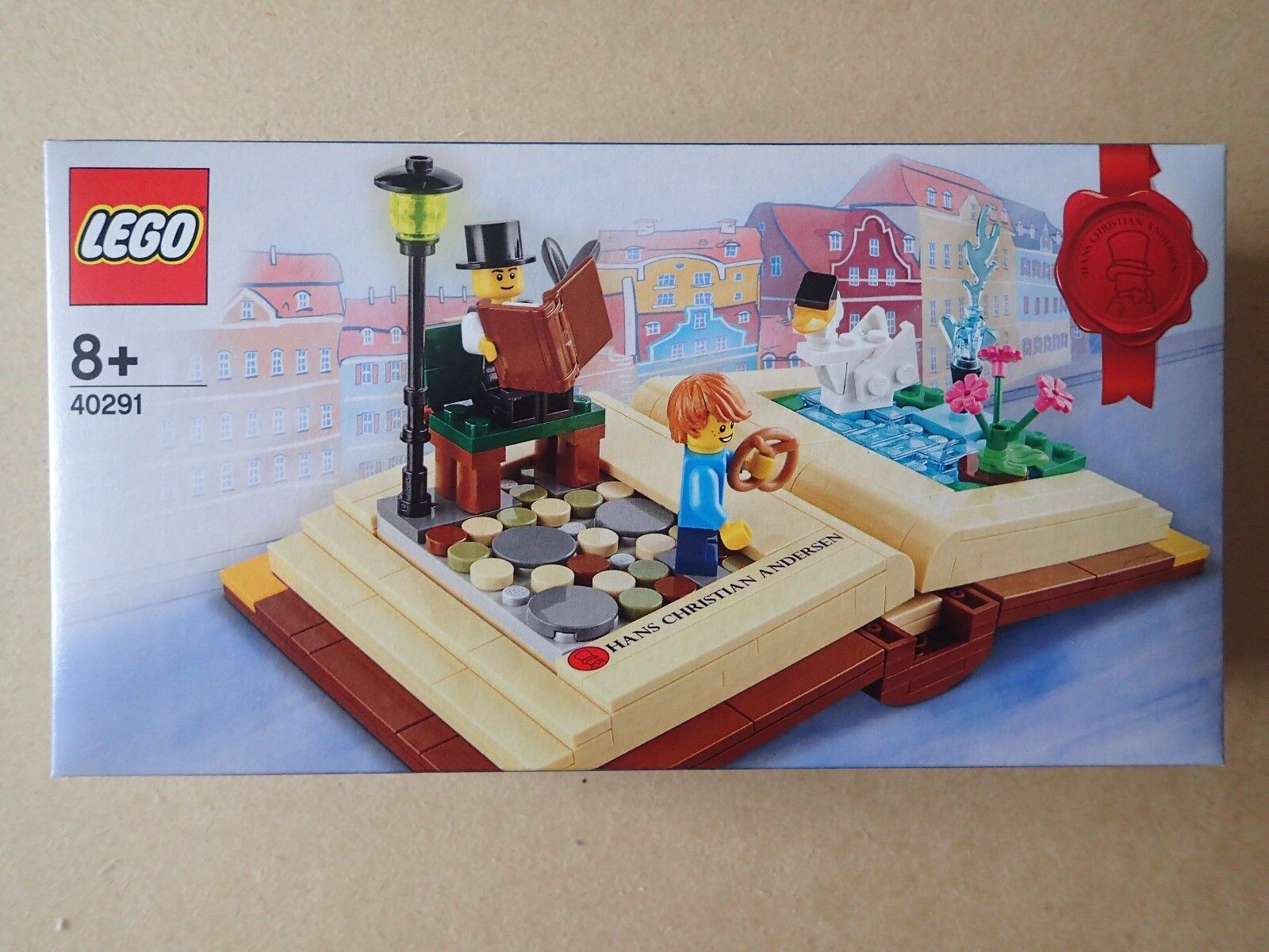 Lego 40291 Hans Christian Andersen Creative Creative Creative Histoire Livre. Brand new sealed in box 574ee8