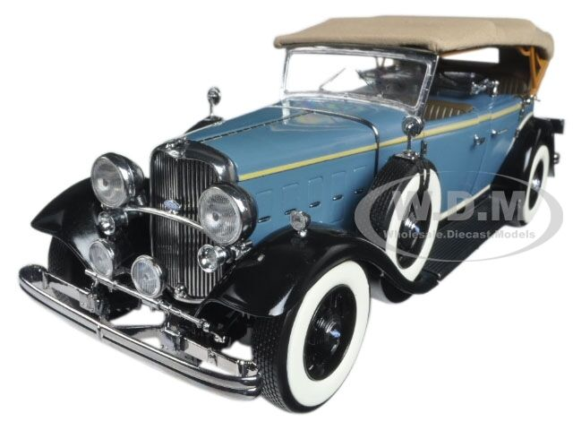 1932 FORD LINCOLN KB TOP UP UP UP blueE 1 18 DIECAST MODEL CAR BY SUNSTAR 6161 191cb2