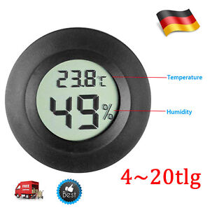 4 X Thermometer Digital LCD Temperatur Hygrometer Termometer Luftfeuchtigkeit DE
