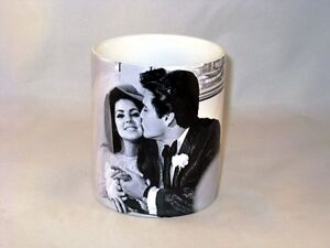 Image Is Loading Elvis And Priscilla Presley Wedding Rings BW MUG