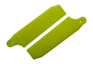 KBDD-Neon-Yellow-96mm-Extreme-Tail-Rotor-Blades-Trex-600-Goblin-570-4074