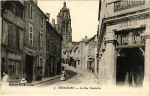 CPA BRESSUIRE - La Rue Gambetta (89543)