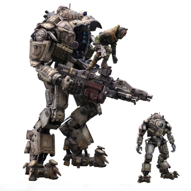 10quot titanfall atlas action figure titan pilot battle mech
