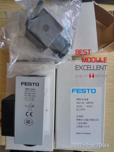 1PCS IN BOX FESTO PEV-1/4-B NEW 100% Quality Assurance PEV-1-4-B