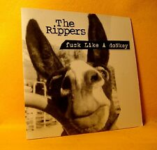 Cardsleeve single CD The Rippers F*ck Like A Donkey 2TR 1998 House Jumpstyle