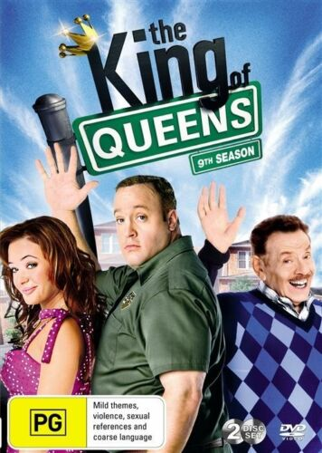 1 of 1 - The King of Queens : Season 9 (DVD, 2010, 2-Disc Set)