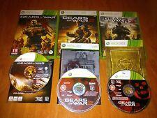 GEARS OF WARS 2 , 3 Y JUDGMENT    PARA XBOX 360