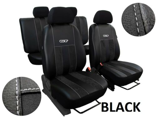 "ECO LEATHER /& ALICANTE /""GT/"" TAILORED SEAT COVERS FOR SEAT ARONA 2017 ONWARDS"