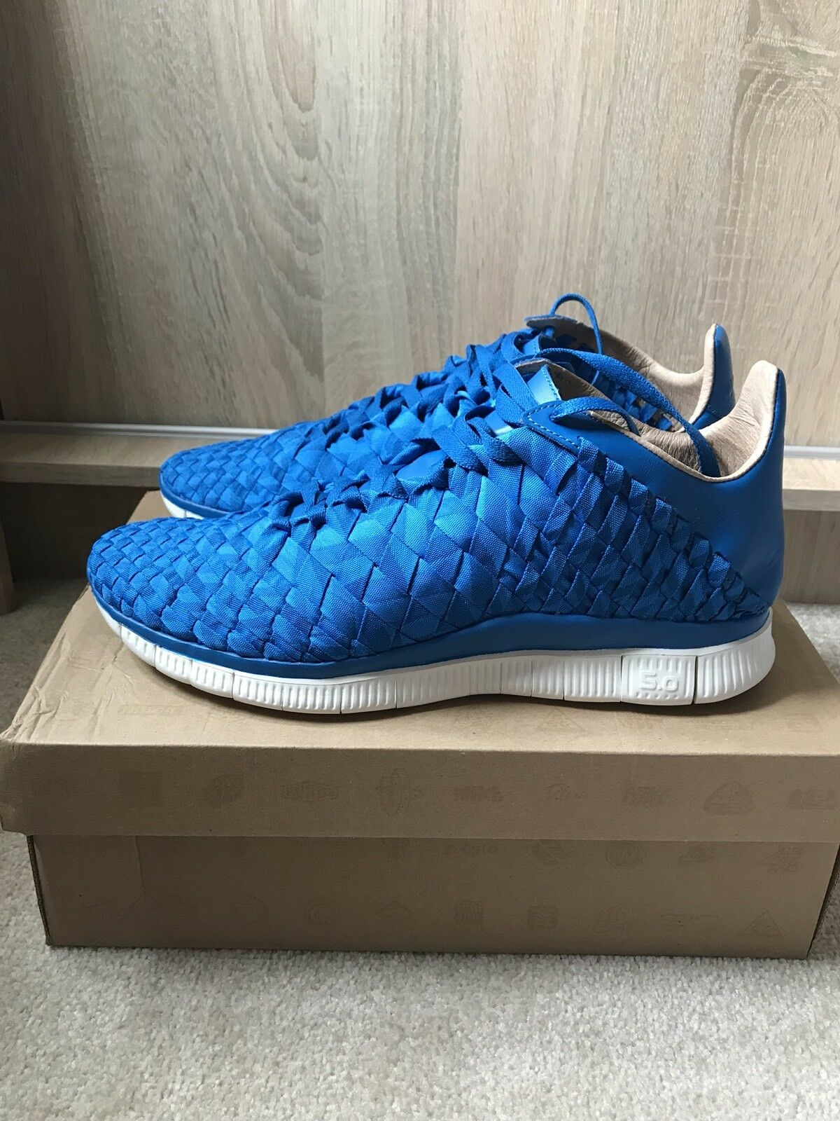 Nike Free Inneva Woven SP - Us 11 - Tier Zero - Photo Blue - NRG