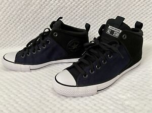 Converse-Chuck-Taylor-All-Star-High-Street-Hi-Nubuck-Shoe-Mens-Sz-10-166078C