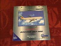 ETHIOPIAN 767-300 Boeing Diecast Metal Model Livery 1/400 Gemini Jets New ET-ALC