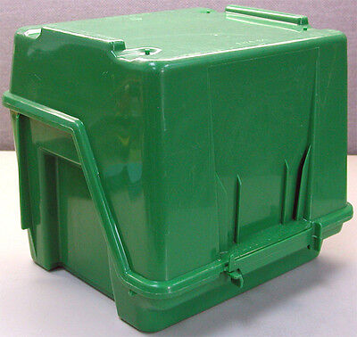 Fluoroware E160-60 Antistatic Transport Wafer Carrier 150mm Storage Box Clean