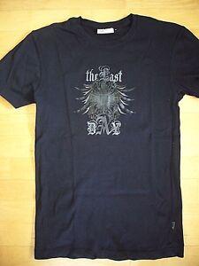 Angelo Litrico Statement T-Shirt Schwarz mit Print #The Last# Gr. M 1 x getragen - My Home, Deutschland - Angelo Litrico Statement T-Shirt Schwarz mit Print #The Last# Gr. M 1 x getragen - My Home, Deutschland