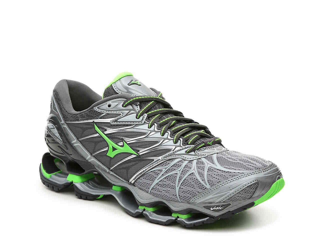 Mizuno's Wave Prophecy  7 Men's Running scarpe (Dimensione 8) Monumento   verde Slime  buona qualità