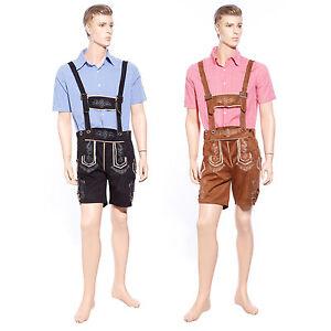 Mens Oktoberfest Costume Bavarian Lederhosen T-Shirt German Beer Man Fancy Dress