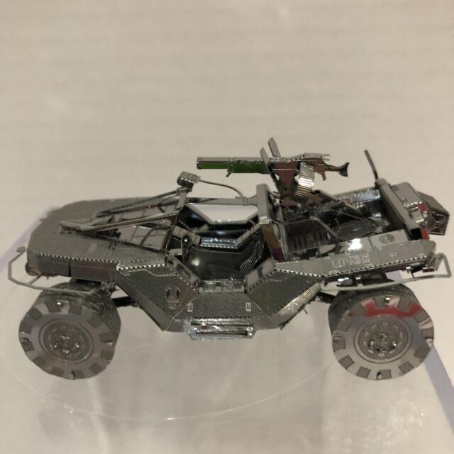 Metal Earth Halo UNSC Warthog 3D Model Sample