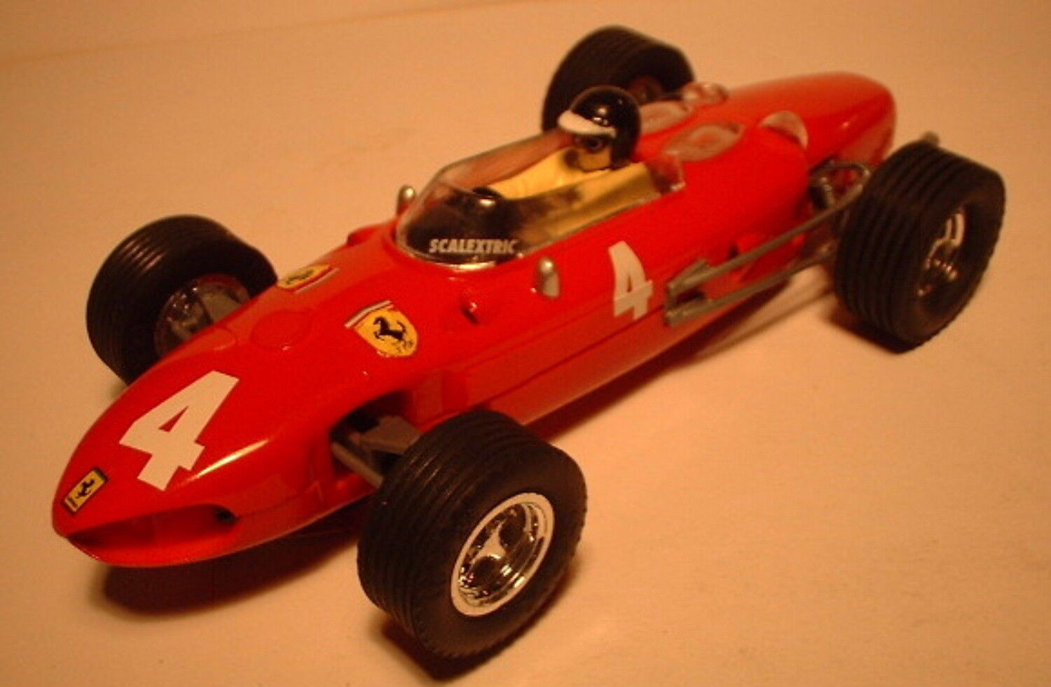 Qq SCX SPAIN SCALEXTRIC ALTAYA CARS MYTHICAL FERRARI 156 F-1 RED LTED. ED