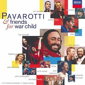 Pavarotti-And-Friends-For-War-Child-Variou-NEW-CD