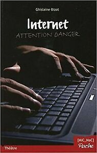 Internet-Attention-danger-by-Ghislaine-Bizot-Book-condition-very-good