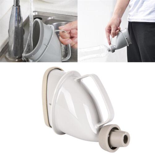 Car Handle Urine Bottle Urinal Funnel Tube Travel Outdoor Camp Urination Devi PT