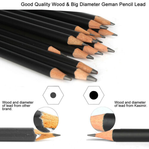 Draw Pencil Set with Tools Erasers for Drawing Sketching 29-Piece Sketch
