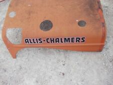 Allis Chalmers Wd45 45 Wd Tractor Ac Hood Engine Motor Cover Powersteering Hole
