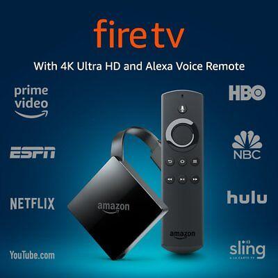 Amazon Fire TV 4K Ultra HD and Alexa Voice Remote 3rd Gen
