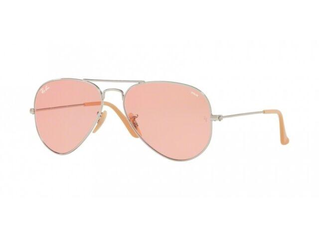 815c894c9e Sunglasses Ray-Ban Aviator Large Metal Rb3025 9065 v7 55 Silver Photochromic  Pin