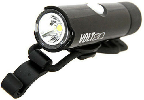 Cateye Volt 80lm USB Rechargeable Front Bike Light Black
