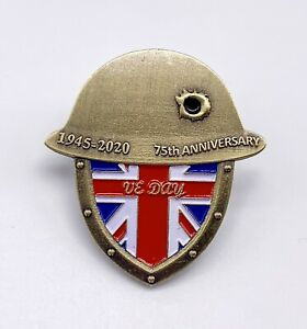 VJ-VE-Day-75-Anniversary-Victory-In-Europe-Japan-Enamel-Pin-Badge-Brooch
