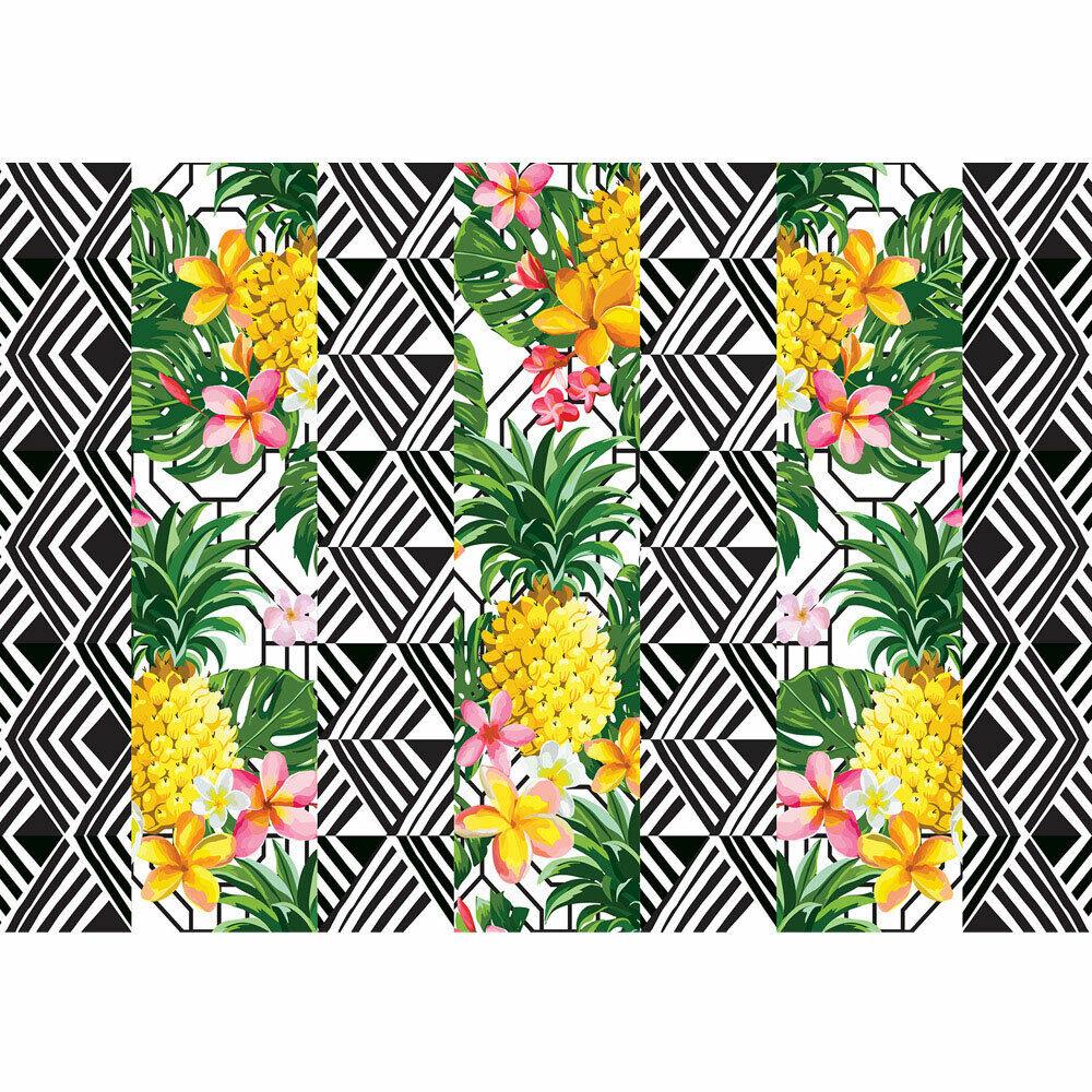 Fototapete Ananas Natur Muster Streifen liwwing no. 4352