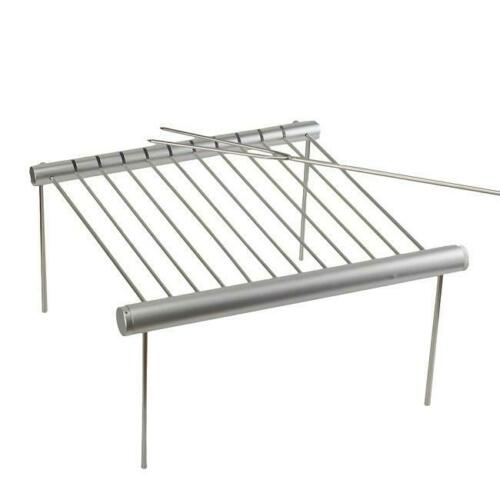 Stainless Steel BBQ Grill Grate Grid Mesh Rack Picnic Cooking Replacement Net LA