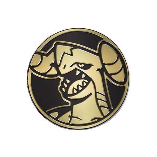 Official Pokemon Coin from Sword /& Shield Blisters Pokemon Mega Garchomp Coin