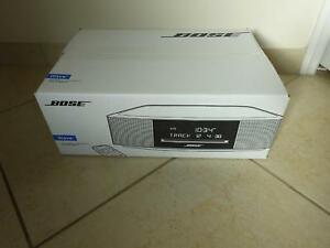 NEW-SEALED-Bose-Wave-Music-System-IV-CD-PLAYER-Radio-Alarm-Remote-BLACK-EXPRESSO