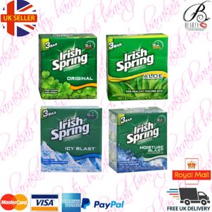 Irish-Spring-Soap-Original-Aloe-Icy-Blast-Moisture-Blast-SPECIAL-OFFER