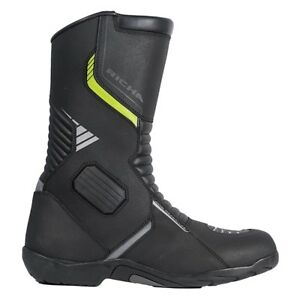 Richa-Vortex-Negro-Impermeable-Sports-Touring-Cuero-Textil