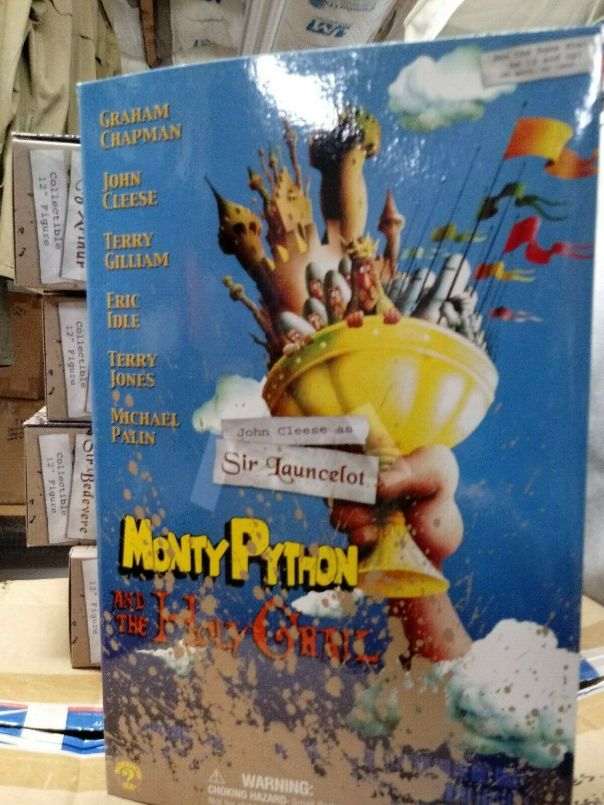 Monty  Python Holy Grail Knight Sir Launcelot 1 6  benvenuto per ordinare