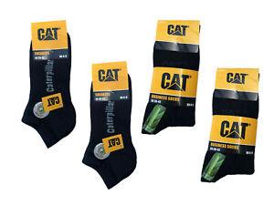 10-paire-Caterpillar-CAT-Chaussettes-Business-Hommes-et-Chaussettes-Sneaker-Noir