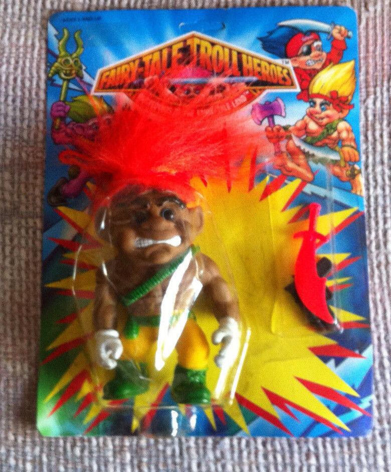 FAIRY-TALE arancia HAIR SOLDIER TROLL HEROES REMCO KO MOC 1993